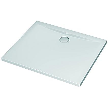 Piatto Doccia Metacrilato O Ceramica.Ideal Standard K517801 Ultraflat Piatto Doccia Acrilico Bianco