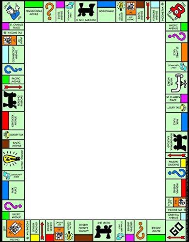 "Amazon.com: Eureka Monopoly 8 x 11"" Marco de papel para ..."
