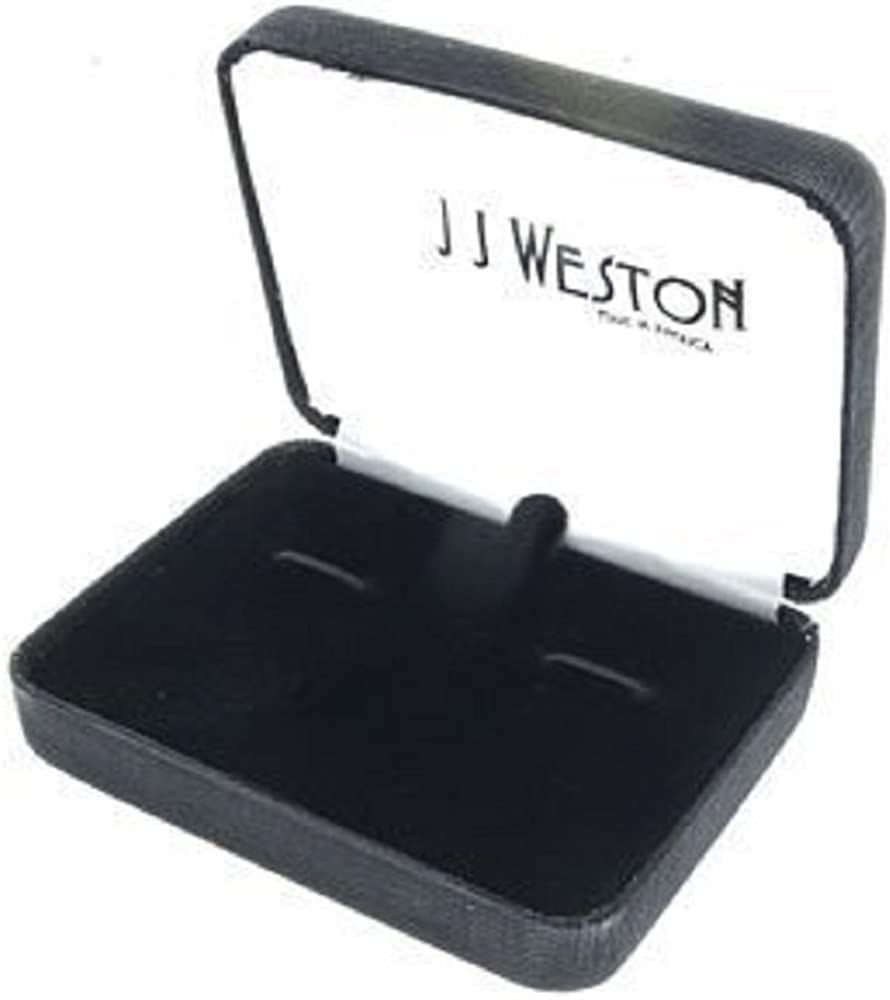 Made in The USA. JJ Weston Initial P Cufflinks