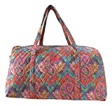 Vera Bradley Luggage Womens Large Duffel Paisley in Paradise Duffel Bag Review