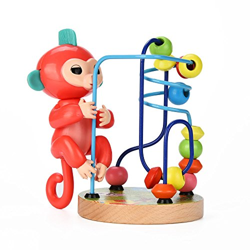 Price comparison product image Baby Monkey Playset O, Monkey Jungle Gym Interactive Monkey Climbing Stand