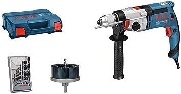 Bosch Professional GSB 20-2 Taladro percutor 1300 W, 2 velocidades, 3000 rpm, /Ø max perforaci/ón hormig/ón 18 mm, en malet/ín