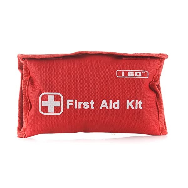 I Go Mini First Aid Kit  89 Pieces Compact Small Kit For Hiking Camping Home And Outdoors