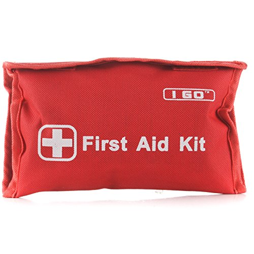 I Go 89-Piece First Aid Kit, Red