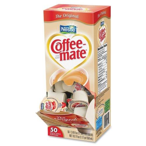 Nestle 35110 Coffee-Mate Original Flavor Creamer, Single Serve Portions, 50/Box Coffee Mate Original Flavor