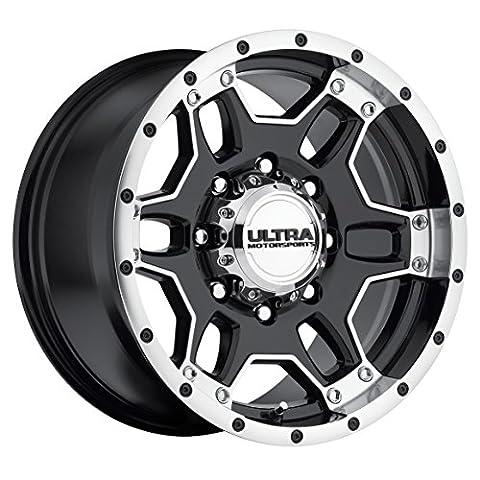 Ultra Wheel 178B Mongoose Matte Black Wheel (17x9