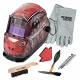 Lincoln Electric Grunge Variable-Shade Auto-Darkening Welding Helmet Kit - Model# KH961