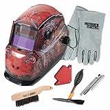 Lincoln Electric Grunge Variable-Shade Auto-Darkening Welding Helmet Kit - Model# KH961