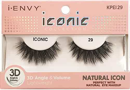 90b948b9493 i Envy by Kiss iconic 3D Angle & Volume Lashes NATURAL ICON 29 (6 Pack