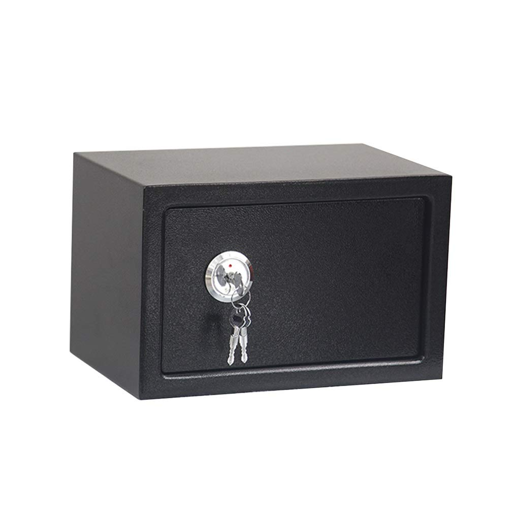 ZCF Security Safes Security Safe, Mini Portable Cabinet Safe Wall-Anchoring With Lock Solid Steel Great for Home Office Hotel Cash Jewelry Wallet (Color : Style1) by ZCF safe