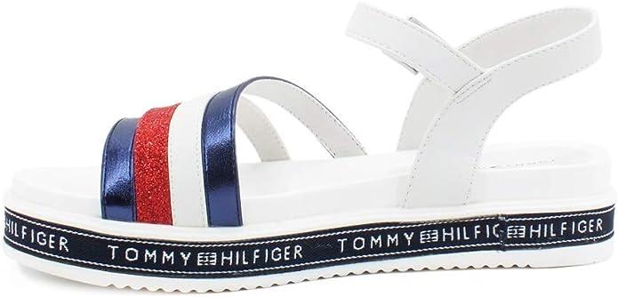 Tommy Hilfiger T3A2-30652-0898Y019 Sandales pour femme