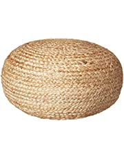Décor Therapy FR7466 Pouf Seat, Natural
