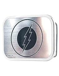 Flash DC Comics Superhero Silver Emblem Logo Rockstar Belt Buckle