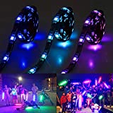 Led Strip Lights Battery Powered With Bluetooth