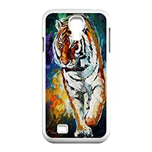 High Quality {YUXUAN-LARA CASE}Animal Tigers For SamSung Galaxy S4 Case STYLE-12