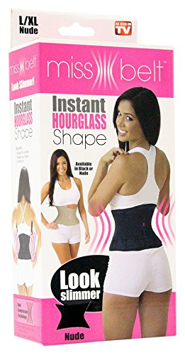 Ideavillage Women's Miss Belt Instant Shaper (As Seen On TV)
