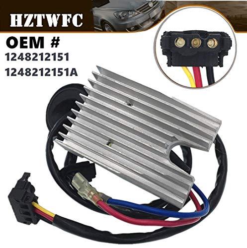 HZTWFC A/C Fan Heater Blower Motor Resistor Regulator Compatible for Mercedes W124 E300 E320 E420 E500 OEM # 1248212151 1248212151A Compatible for Mercrdes-benz W124