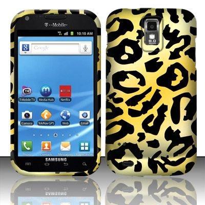 Amazon.com: Diseño de guepardo fijación a presión Protector ...