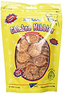 Pet Center DPC88135 Natural Chicken Breast Nibbles for Dogs, 3.5-Ounce