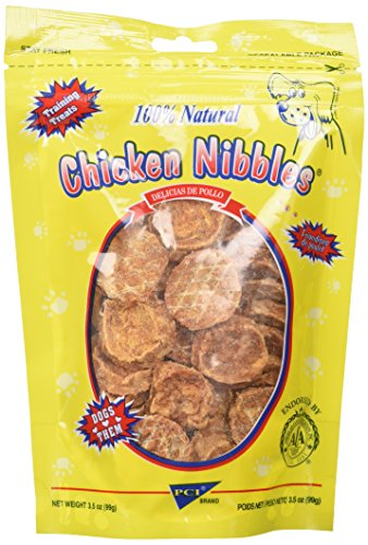 Pet Center DPC88135 Natural Chicken Breast Nibbles for Dogs, 3.5-Ounce (Chicken Tenders Breast Center Pet)
