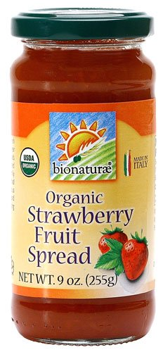 Bionaturae Organic Fruit Spread Strawberry -- 9 oz - 2 pc by Bionaturae (Image #1)