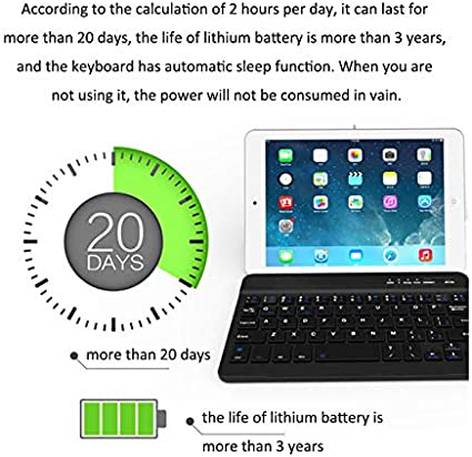 Color : Silver Flatware Ruijuxin USB Charging Bluetooth 3.0 Numeric Keyboard with 12-Digit Display /& LED Indicator for Laptop Desktop PC Notebook Flatware White