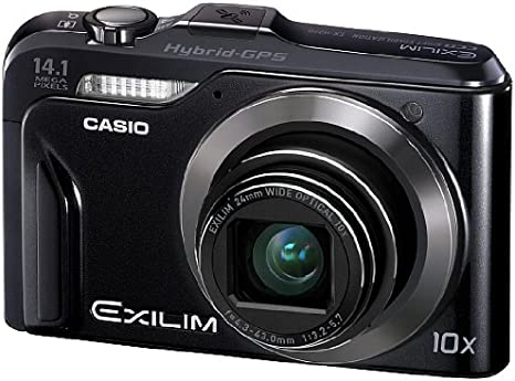 Casio EX-H20G - Cámara Digital Compacta, 14.1 MP (3 pulgadas, 10x ...