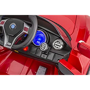 SPORTrax-SuperCar-Kids-Ride-On-Car-Battery-Powered-Remote-Control-wFREE-MP3-Player-8858R