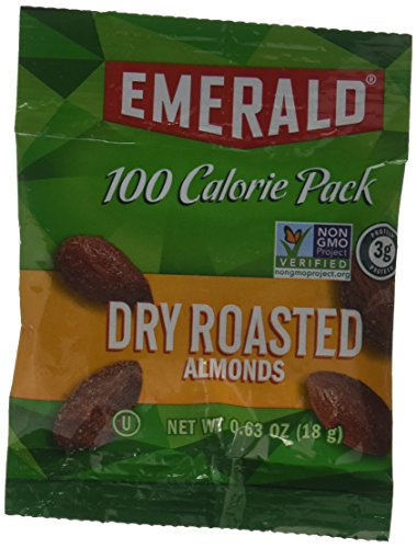 Emerald Dry Roasted Almonds 100 Calorie Packs, 4.41 oz