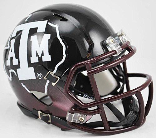 - Texas A&M Aggies Replica Speed Mini Helmet - Black