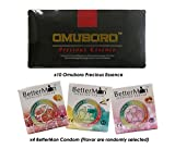 (10) Pack Omuboro Precious Essence Improve Sexual Desire Extra Plessure Improve Erection Quality + Free (4) Box BetterMan Anion Condom