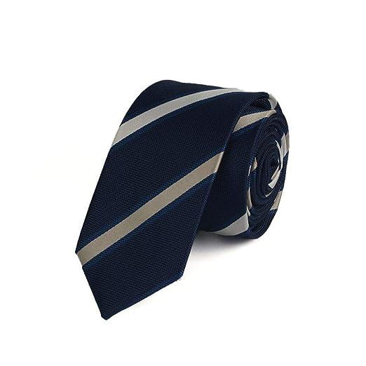 Littlefairy Hombre Designer Corbata,Striped Plaid Dot Casual ...