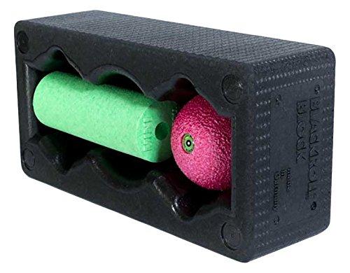BLACKROLL Block Set 12 x 6 x 4 Black Block