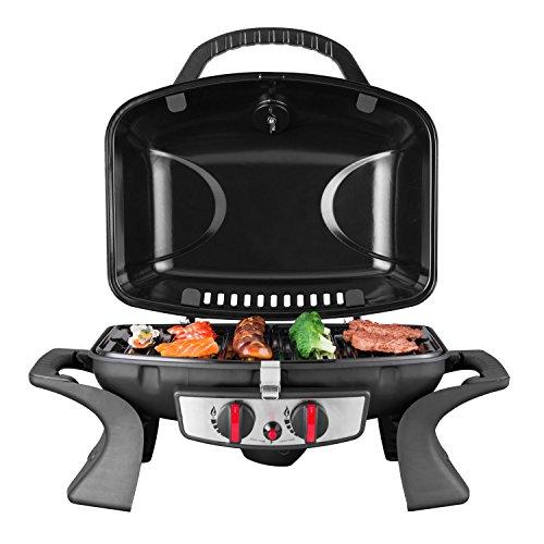 Royal Gourmet 2-burner Portable Tabletop Propane Gas Grill