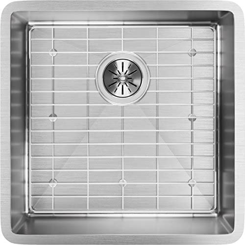 Elkay ECTRU17179DBG Crosstown Single Bowl Undermount Stainless Steel Sink Kit