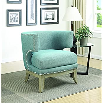 Amazon Com Homelegance Arles Flared Back Accent Chair
