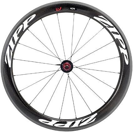 Zipp 404 Firecrest - Rueda para Bicicletas, Color Negro: Amazon.es: Deportes y aire libre