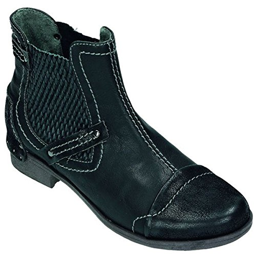 Unidad Puente München Mujer Botas/Botines softsynt hetik, Momo cama de pie flexible, TR de suela, color Negro, talla 37 EU: Amazon.es: Zapatos y ...