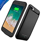 iPhone 8 Plus / 7 Plus / 6s Plus Battery Case, Upgraded Newdery
