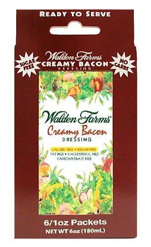 Salsa cremosa de Bacon Walden Farms 6 sobres de 28 g: Amazon.es: Alimentación y bebidas