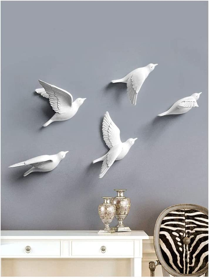 Details about  /3D Branch Cage Birds Wall Paper Wall Print Decal Wall Deco Indoor Wall Murals