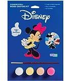 : Disney Wood Crafting 3-D Paint Kits-Minnie