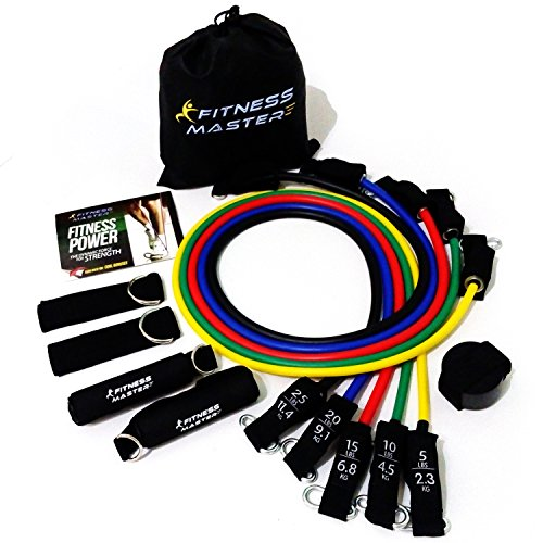 Weights Exercise Tube Band Set Resistance Band Workout