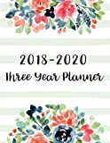 img - for 2018-2020 Three Year Planner: 36 Months Calendar Yearly Goals Monthly Task Checklist Organizer Agenda Schedule Logbook Appointment Notebook Personal ... Year Monthly Calendar Planner) (Volume 1) book / textbook / text book