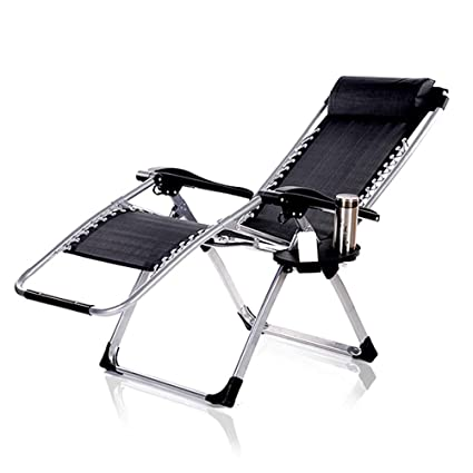 Amazon.com: Silla reclinable plegable para siesta, cama ...