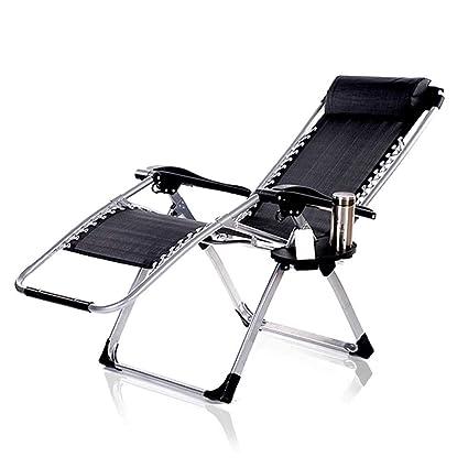 Amazon.com: Silla reclinable plegable para siesta, cama ...