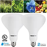 Cheap 14W BR40, LED Grow Light Bulb Grow Plant Light Full Spectrum Hydroponic Lighting for Indoor Planting, Gardening, Green House, 120°Flood Light, 2 Years Warranty, 2 Pack