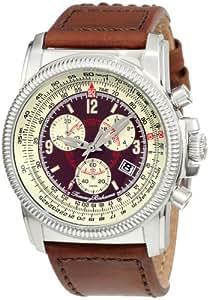 Tommy Bahama Men's TB1074 Panama Pilot Detailed Swiss Chronograph Flight Computer Watch