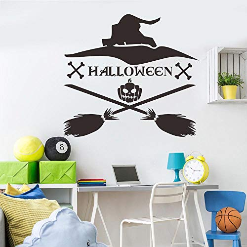 OTTATAT Wall Stickers for Bedroom Women 2019,Happy Halloween Decoration Home Removable WallStickers Art Decor Easy to Peel Valentine's Day HolidayGift for boy Free Deliver Clearance]()