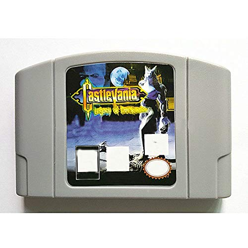 BrotheWiz Nintendo N64 Game Castlevania Legacy Of Darkness English Language for 64 bit USA Version Video Game Cartridge Console